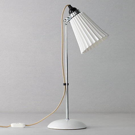 Buy Original BTC Hector Pleated Table Lamp, FT380 Online at johnlewis.com