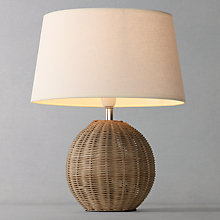 Buy Raffles Table Lamp, Small Online at johnlewis.com