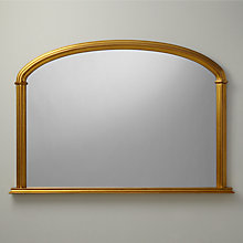 Buy John Lewis Eve Overmantel Mirror, H84 x W124cm Online at johnlewis.com