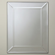 Buy John Lewis Bevel Simple Mirror, Small, 50 x 40cm Online at johnlewis.com