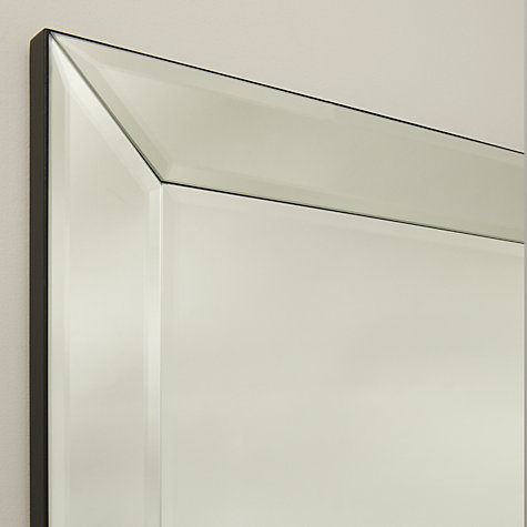 Buy john lewis bevel simple mirror large 150 x 60cm for Mirror 60cm wide