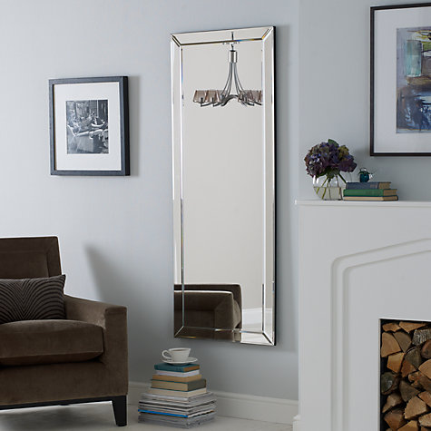 buy john lewis bevel simple mirror large 150 x 60cm
