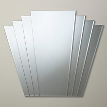 Buy Deco Overmantle Mirror, 101 x 86cm Online at johnlewis.com