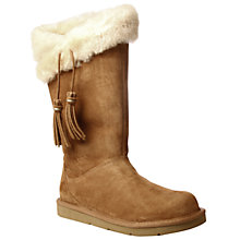Buy UGG Plumdale Tall Boots, Chestnut Online at johnlewis.com