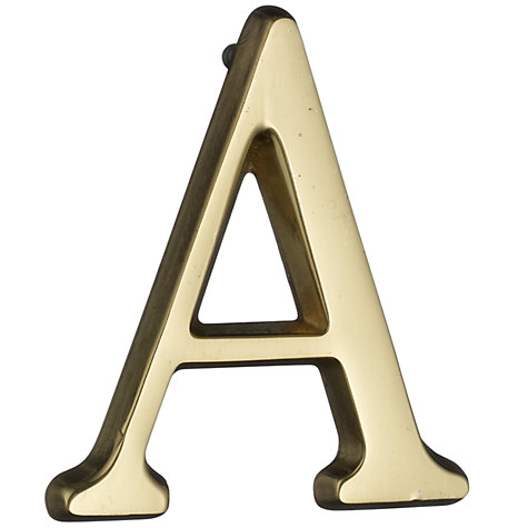 Buy John Lewis Flat Letters Online at johnlewis.com