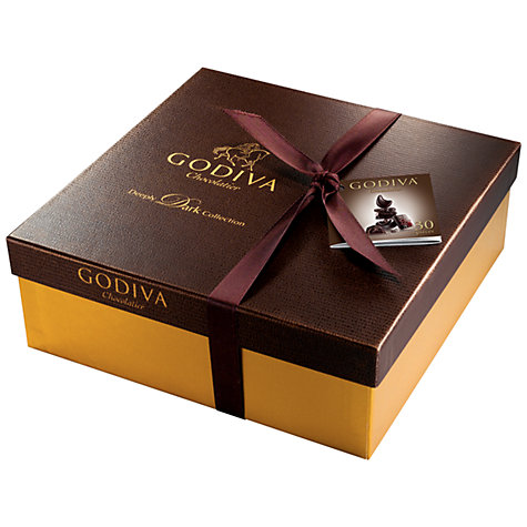 Buy Godiva Deeply Dark Chocolate Collection, 300g Online at johnlewis.com