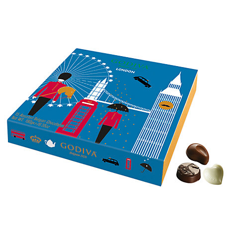 Buy Godiva London Souvenir Chocolate Selection, 180g Online at johnlewis.com