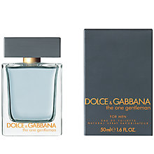 Buy Dolce & Gabbana The One Gentleman Eau de Toilette Online at johnlewis.com