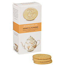 Buy Elegant English Biscuits for Tea, Honey & Almond, 125g Online at johnlewis.com