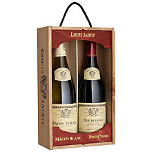 Buy Louis Jadot Mâcon Blanc and Pinot Noir Duo Wine Set, 2 x 75cl Online at johnlewis.com