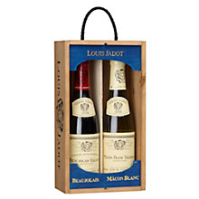 Buy Louis Jadot Red & White Half Duo Wine Set, Boxed, 2 x 37.5cl Online at johnlewis.com
