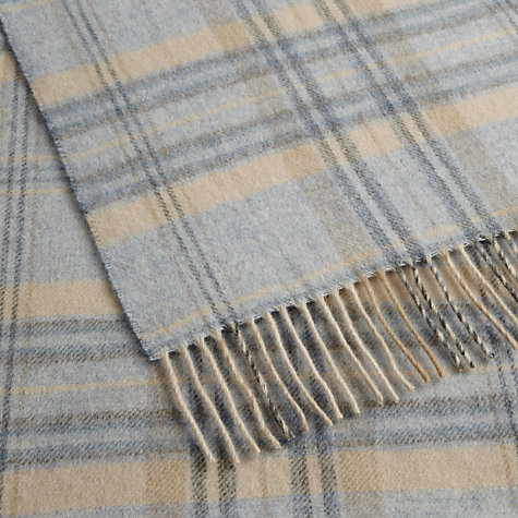 Buy Bronte by Moon Heather Check Throw Online at johnlewis.com