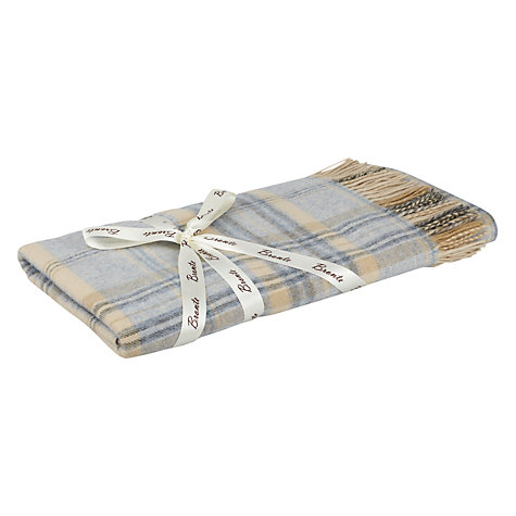 Buy Bronte Heather Check Throw Online at johnlewis.com