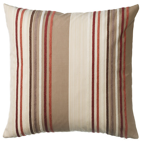 Buy John Lewis Grecal Cushion, Russet Online at johnlewis.com