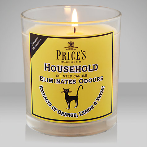 Buy Price's Household Candle Jar, Orange Lemon & Thyme Online at johnlewis.com