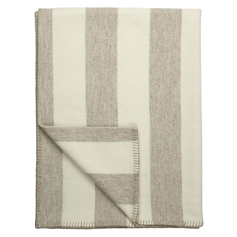 Buy Melin Tregwynt Broadstripe Wool Blanket Online at johnlewis.com