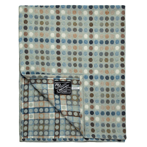 Buy Melin Tregwynt Mondo Spot Lambswool Throw Online at johnlewis.com