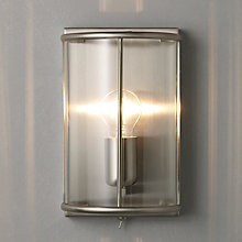 Buy John Lewis Walker Wall Lantern, Antique Brass Online at johnlewis.com