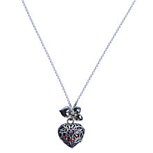 Buy Martick Sterling Silver Locket with Murano Heart Online at johnlewis.com