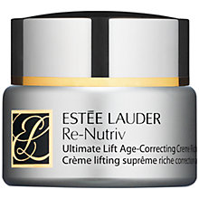 Buy Estée Lauder Re-Nutriv Ultimate Lift Age Correcting Crème Extra Rich, 50ml Online at johnlewis.com