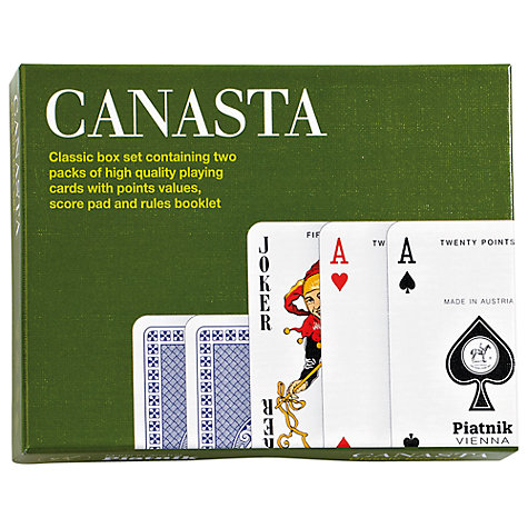 Buy Gibsons Canasta Playing Cards Online at johnlewis.com