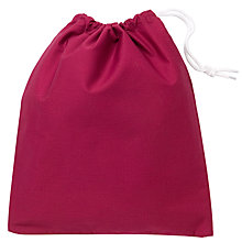 Buy School Shoe Bag, Maroon Online at johnlewis.com