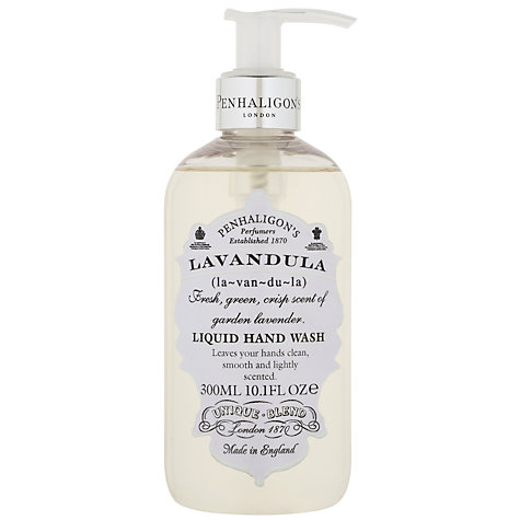 Buy Penhaligon's Lavandula Liquid Hand Wash, 300ml Online at johnlewis.com