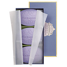 Buy Penhaligon's Lavandula Soap: Box of 3 x 100g Online at johnlewis.com
