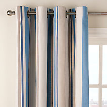 Buy John Lewis Finlay Stripe Eyelet Curtains Online at johnlewis.com