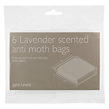 Buy John Lewis Anti-Moth Sweater Bags, Pack of 6 Online at johnlewis.com