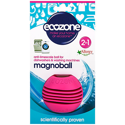 Buy Ecozone Washing Machine and Diswasher Anti-Limescale Ball Online at johnlewis.com