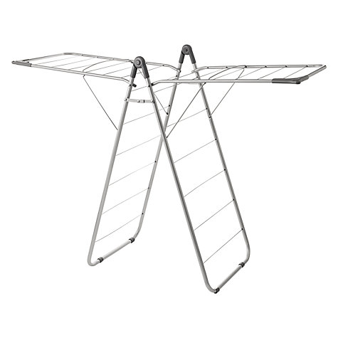 Buy Addis Indoor Slimline X Wing Clothes Airer Online at johnlewis.com