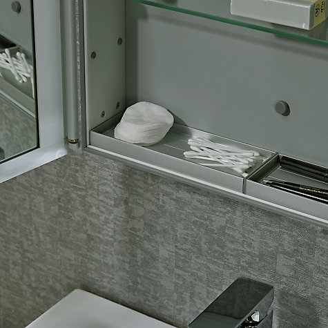 Buy roper rhodes limit slimline single bathroom cabinet for Slim mirrored bathroom cabinet