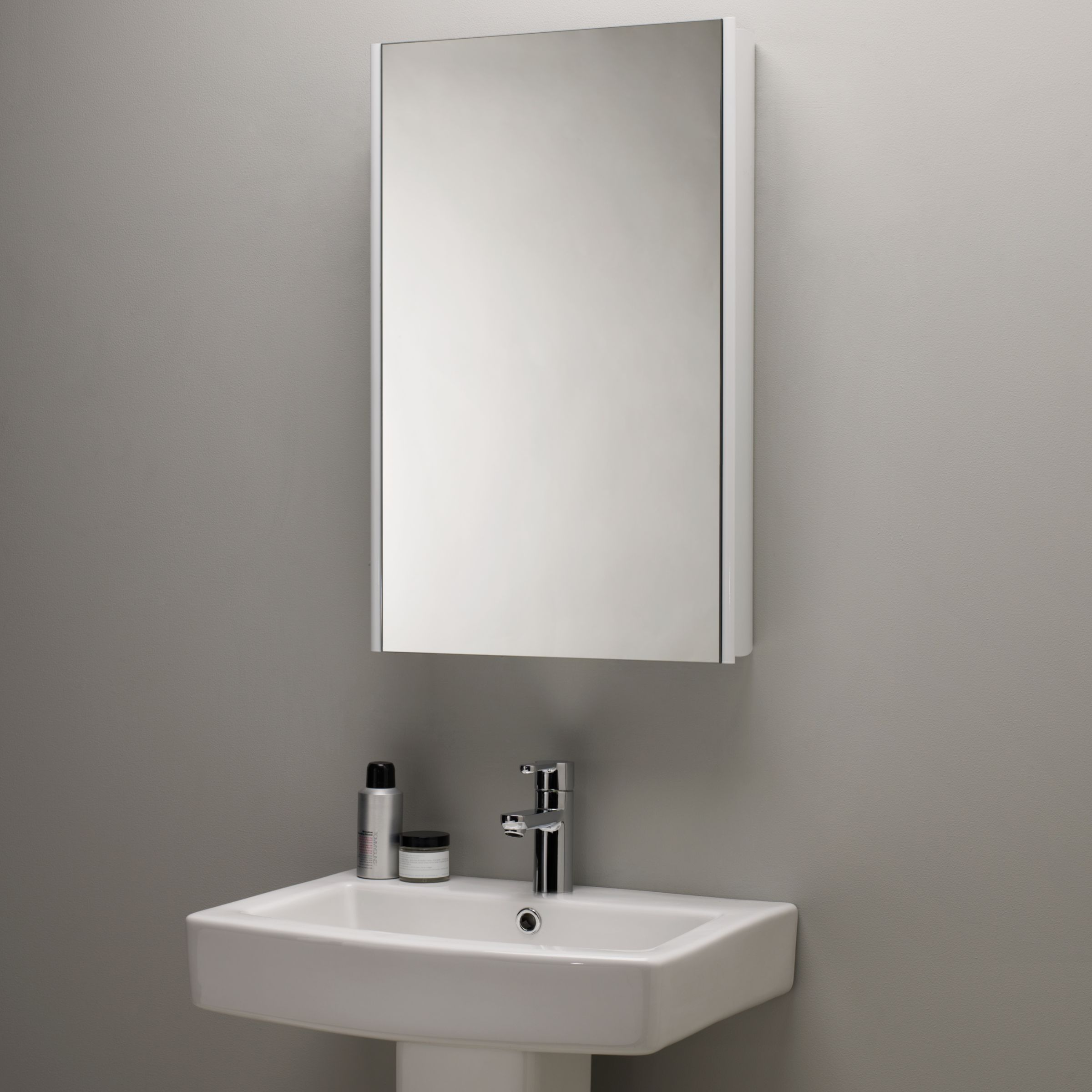 Roper Rhodes Roper Rhodes Limit Slimline Single Bathroom Cabinet with Double-Sided Mirror