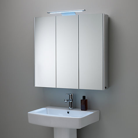 Buy roper rhodes absolute triple mirrored illuminated for Bathroom cabinets philippines