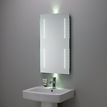 Buy Velocity LED Mirror with Ambi Lights Online at johnlewis.com
