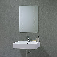 Buy Flare LED Bathroom Mirror Online at johnlewis.com