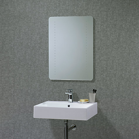 Awesome  Lewis LED Frame Illuminated Bathroom Mirror Online At Johnlewiscom