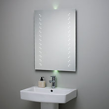 Buy Escape LED Bathroom Mirror with Ambi Lights Online at johnlewis.com