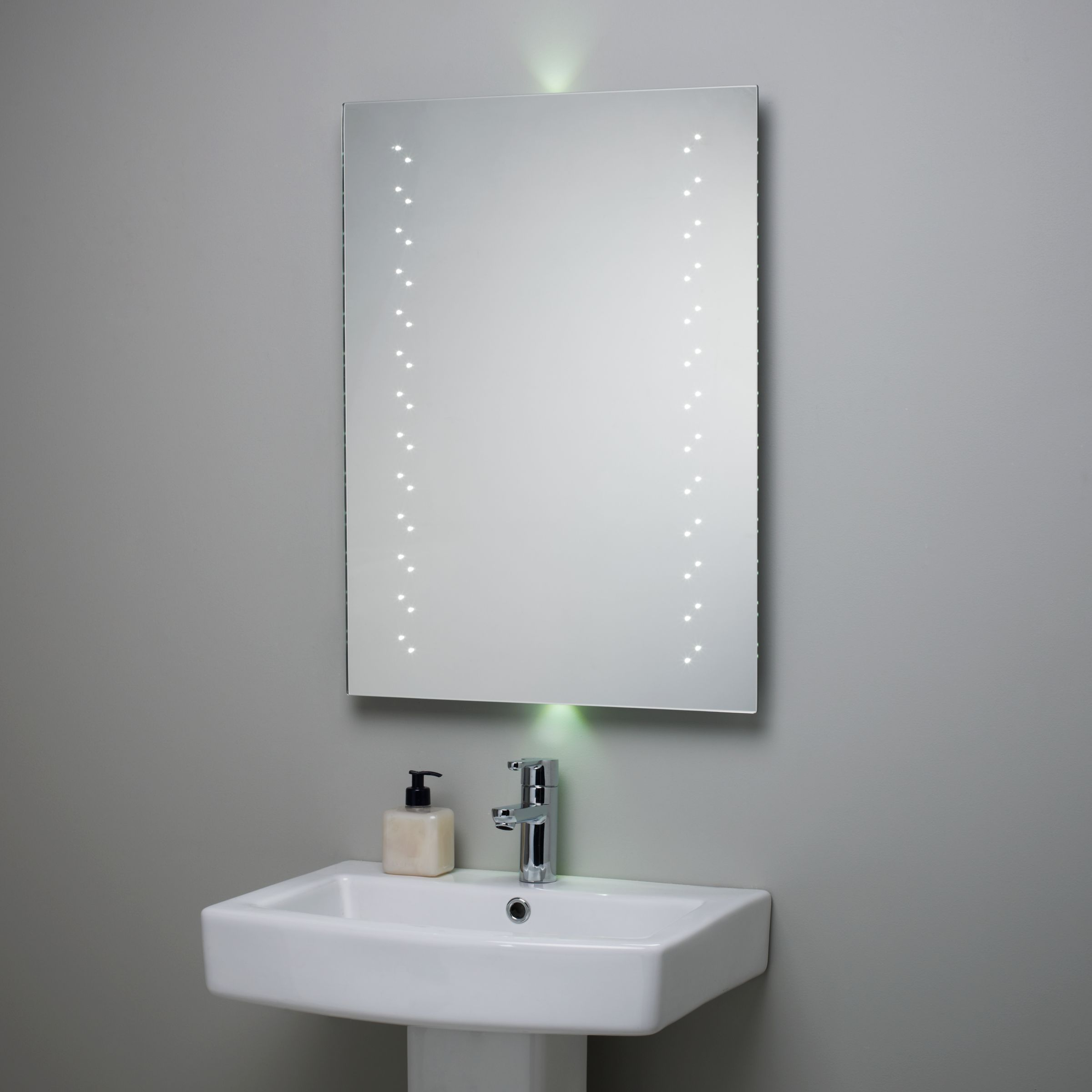 Great Escape LED Bathroom Mirror with Ambi Lights Rectangular mirror  2000 x 2000 · 226 kB · jpeg