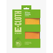 Buy E-cloth Window, Pack of 2 Online at johnlewis.com