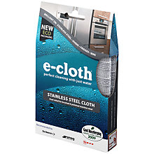 Buy E-Cloth Stainless Steel Cloth Online at johnlewis.com