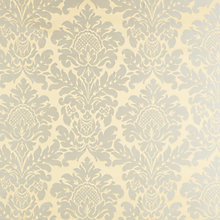 Buy John Lewis Mayfair Woven Damask Fabric, Duck Egg Online at johnlewis.com