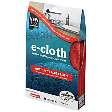 Buy E-Cloth Antibacterial Cloth Online at johnlewis.com