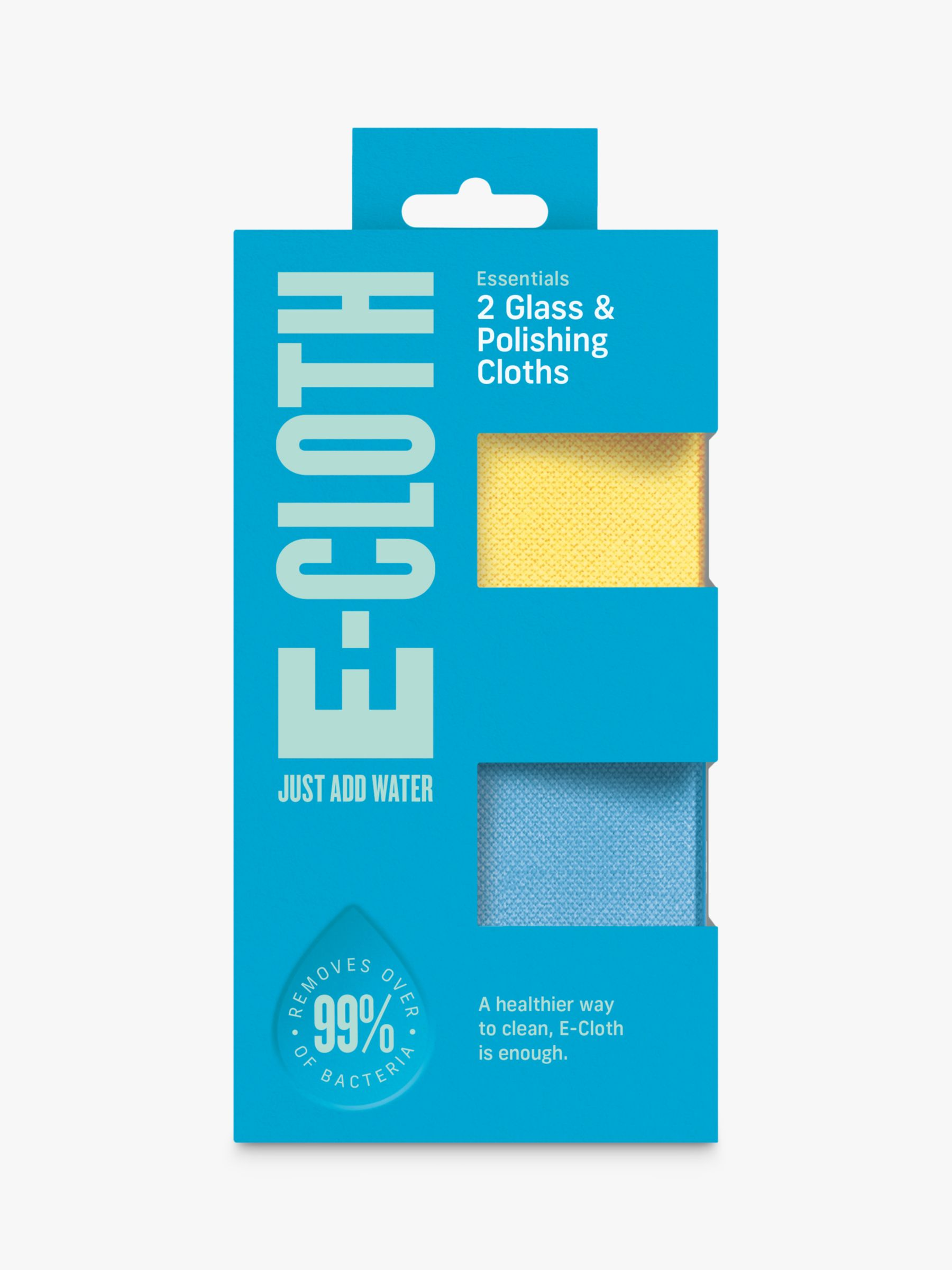 e-cloth e-cloth Glass Cleaners, Pack of 2