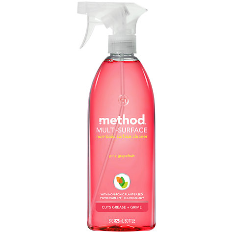 Buy Method All-Purpose Spray, Pink Grapefruit Online at johnlewis.com
