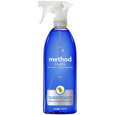 Buy Method Mint Window Glass Cleaning Spray Online at johnlewis.com