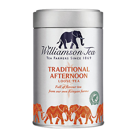 Buy Williamson Tea Traditional Afternoon Tea Bags, 100g Online at johnlewis.com