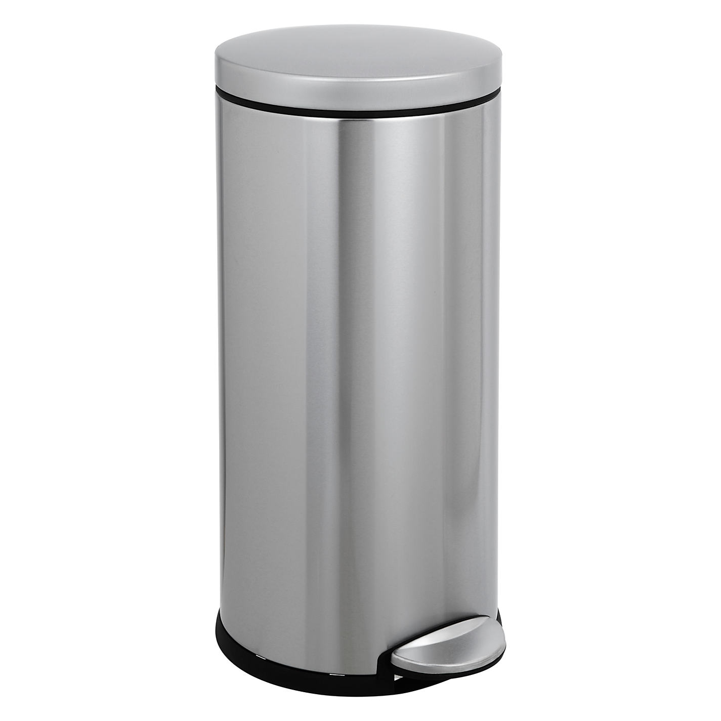 Buy simplehuman Round Pedal Bin Brushed Stainless Steel 30L Online at johnlewis com. Simplehuman Bathroom Bin