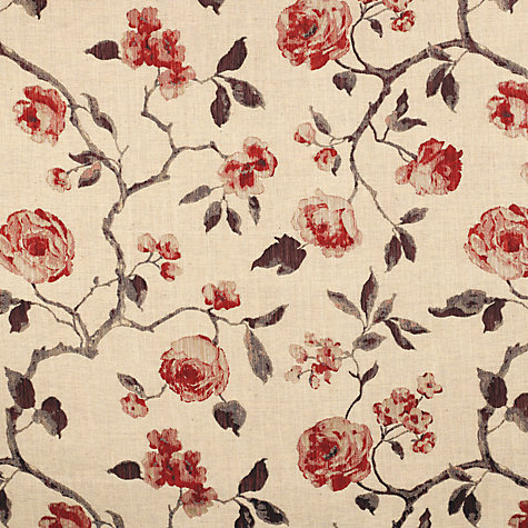 Buy John Lewis Linen Rose Fabric Online at johnlewis.com